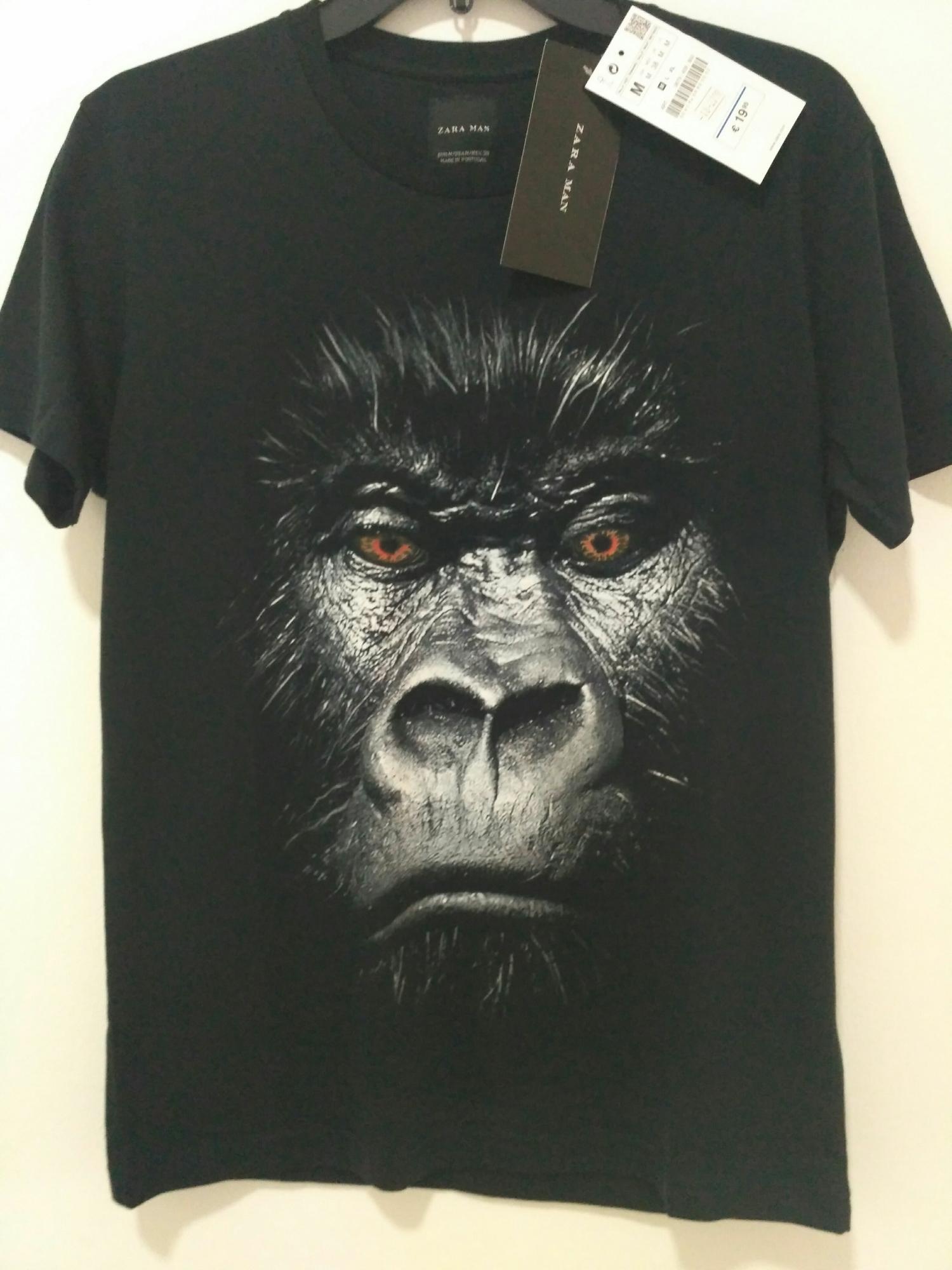 Kaos Zara man animal 0032