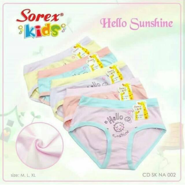 Sorex Kids - 3 Pcs Celana Dalam Anak Perempuan By Grosist.