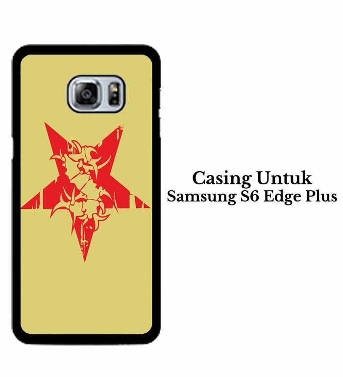 Casing SAMSUNG S6 EDGE PLUS sepultura logo Hardcase Custom Case Se7enstores