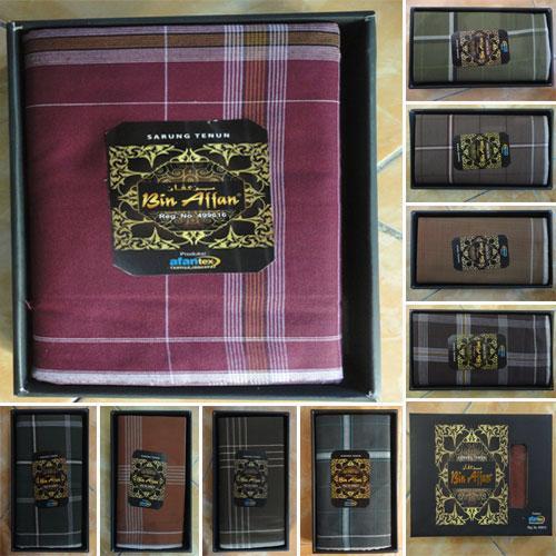 Sarung Tenun Bin Affan , Pilihan Sepanjang Zaman ( Nyaman Bagus Halus Elegan Keren Original )