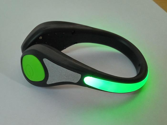 Salzmann Outdoor Cycling Running Reflective Led Shoe Light Green By Hike N Run.