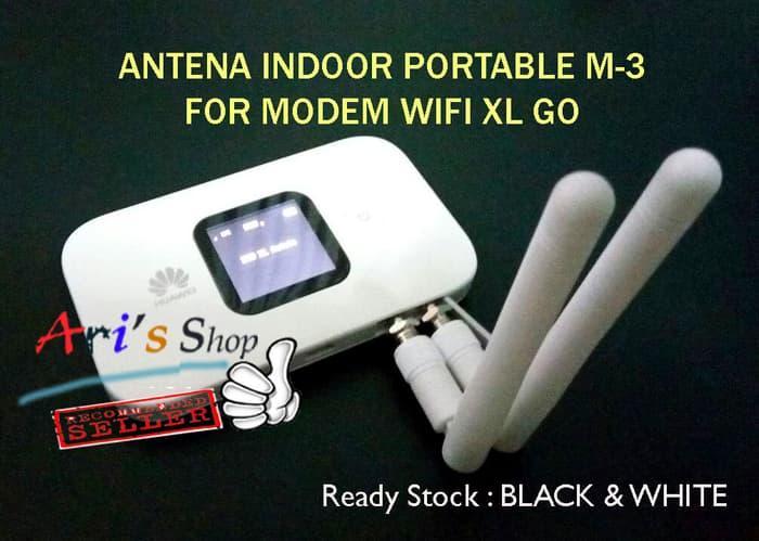 DISKON ANTENA INDOOR M-3 MODEM MOBILE WIFI MIFI 4G HUAWEI E5577C E5577 XL GO