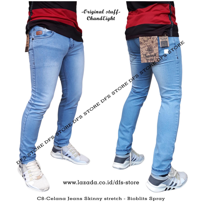 DFS-ChanEight Celana jeans skinny slimfit pria