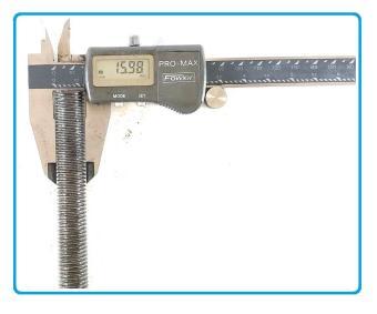 Beli sekarang As Full Drat Baut Galvanis Long Thread Bolt Stut Bolt M16 X 1 Meter terbaik murah - Hanya Rp39.537