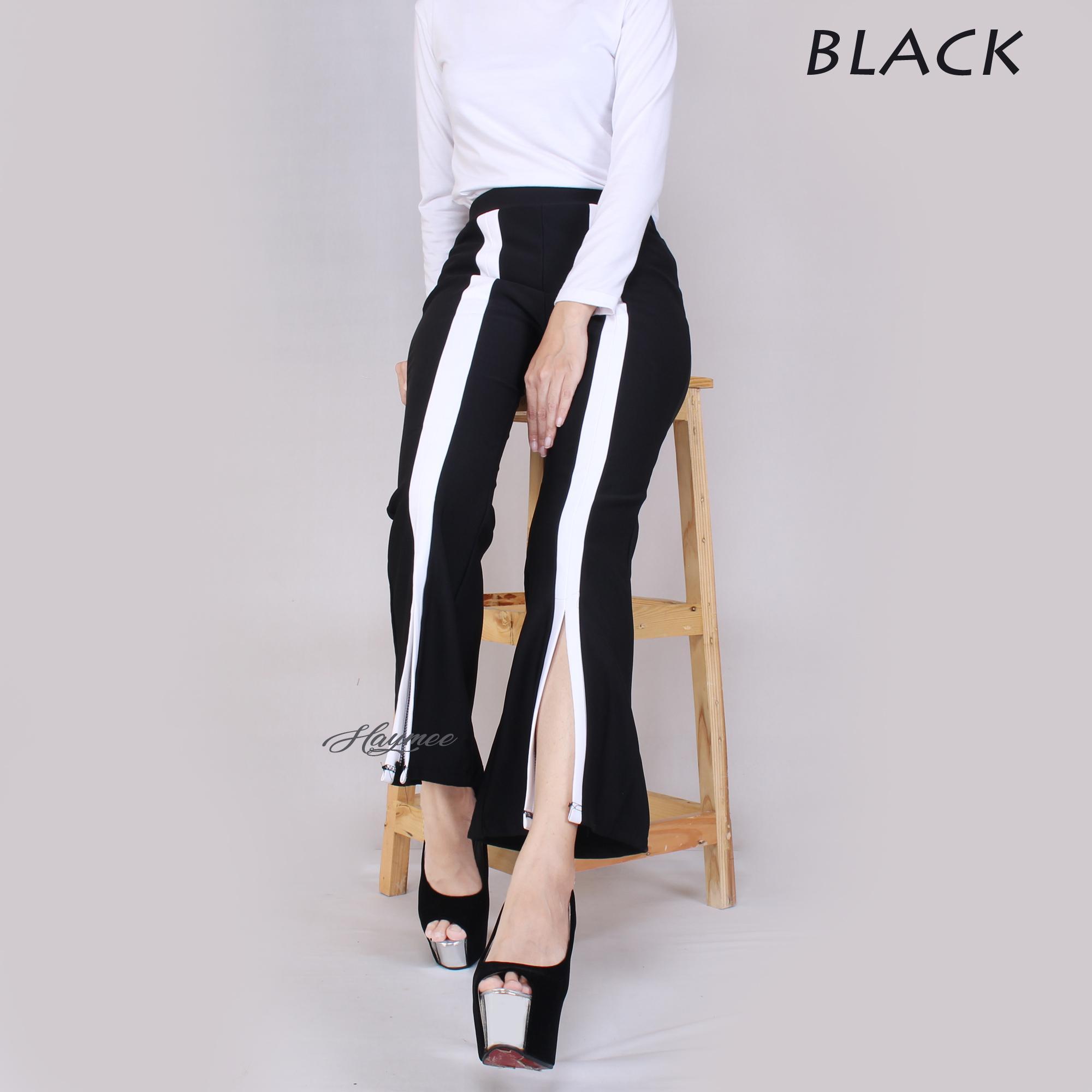 HaymeeStore Celana Cutbray Office Pants Import Bawahan Cutbrai Wanita Celana Premium Scuba Cewek