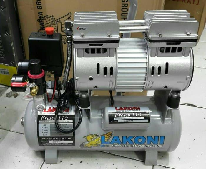 Promo Kompresor Lakoni Fresco 110 Oiless 0,75 HP Original