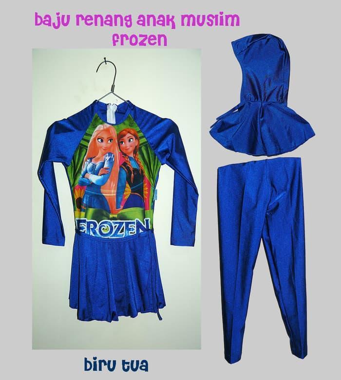 HARGA SPESIAL!!! Baju Renang Anak Muslim karakter frozen - PSrawn