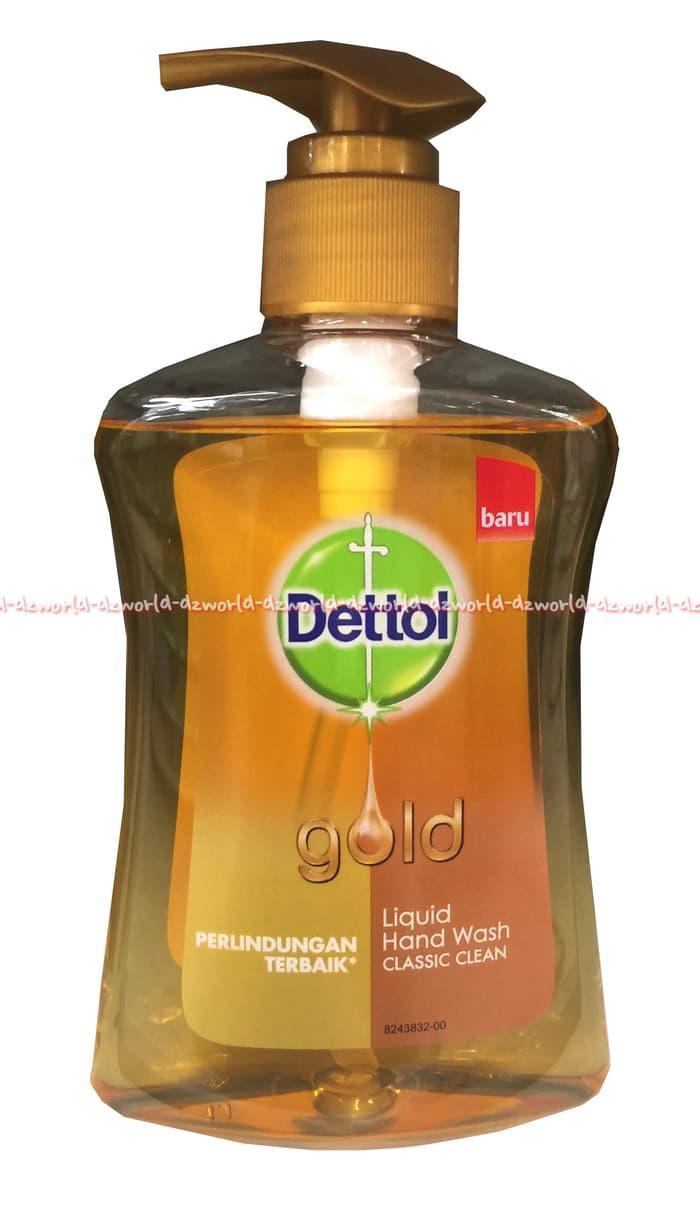 TERLARIS Dettol gold Liquid hand wash sabun cuci tangan Detol gold 200ml - IFLLwUgo