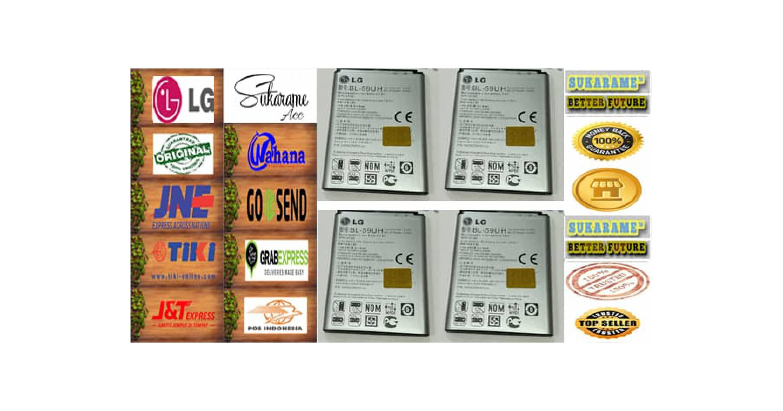 baterai Battery LG BL-59UH / G2 Mini LTE , D620 , D618 , F70 Lucid 3