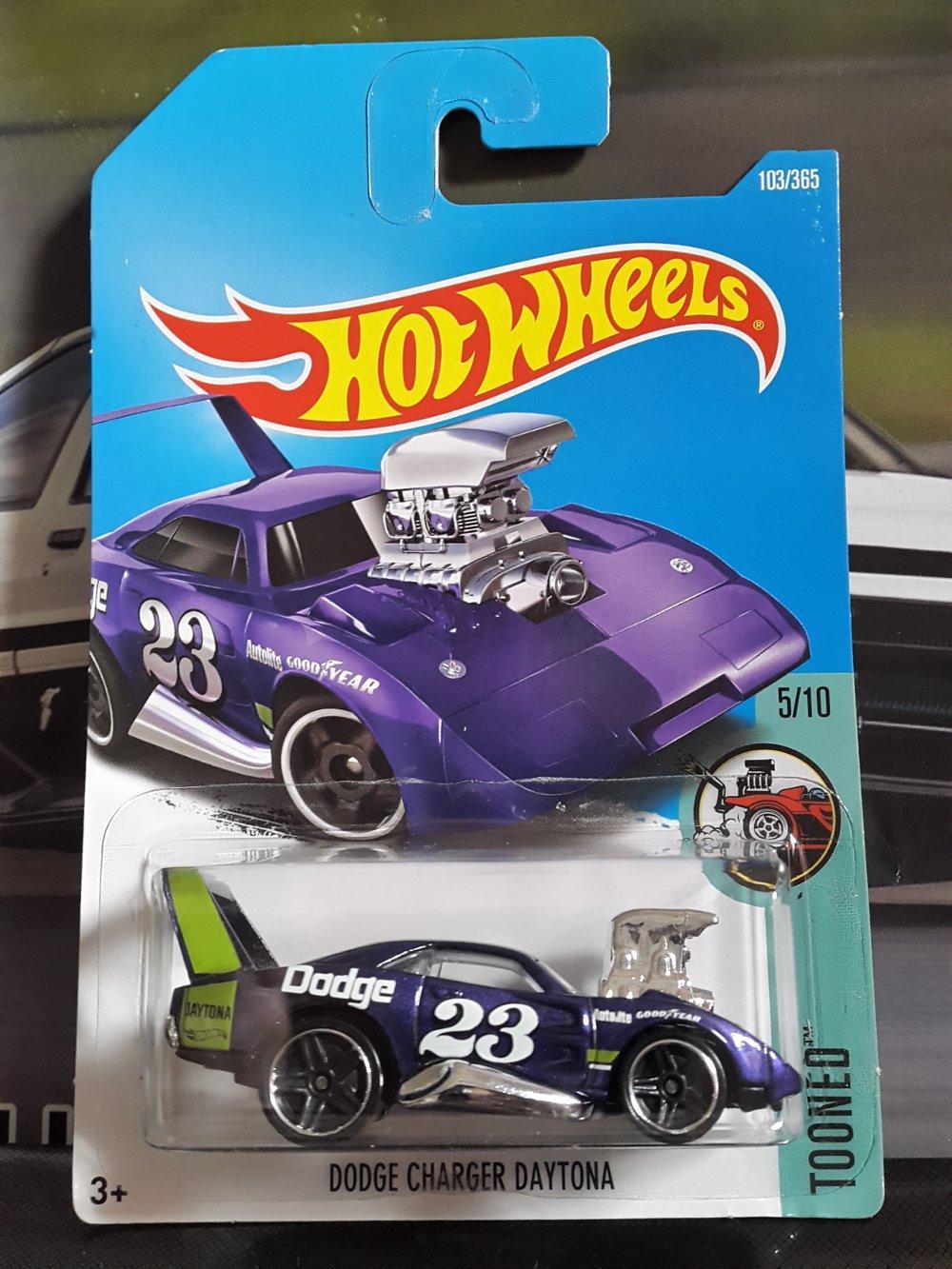 Dodge Charger Daytona Goodyear purple Hotwheels # Favorit Toys favorit_toys