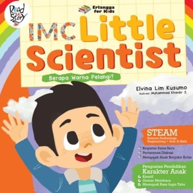 Buku Imc Little Scientist Berapa Warna Pelangi ? - Kidsbook