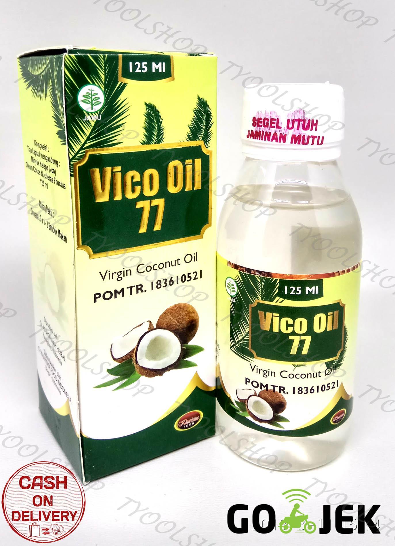 Buy Sell Cheapest Makanan Super Vico Best Quality Product Deals Vco Virgin Coconut Oil By Bagoes Minyak Kelapa Murni Spesial 77 Kharisma 125ml