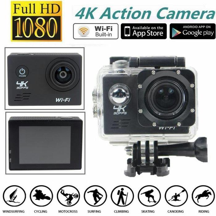 Sport Ultra HD 4k Camera 16MP ( action camera WIFI ) Terlaris di Lazada