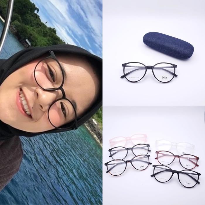 DISKON Frame kacamata nissa sabyan lensa minus plus silinder aksesoris cewek TERMURAH