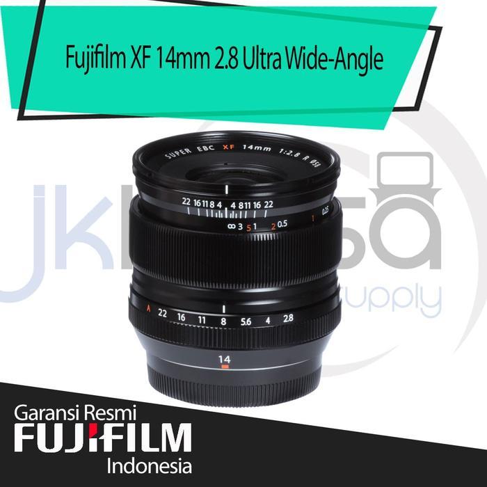 Fujifilm Fujinon XF 14mm F2.8 R Ultra Wide Angle Lensa Kamera - Hitam jklensa Garansi Resmi Fujifilm