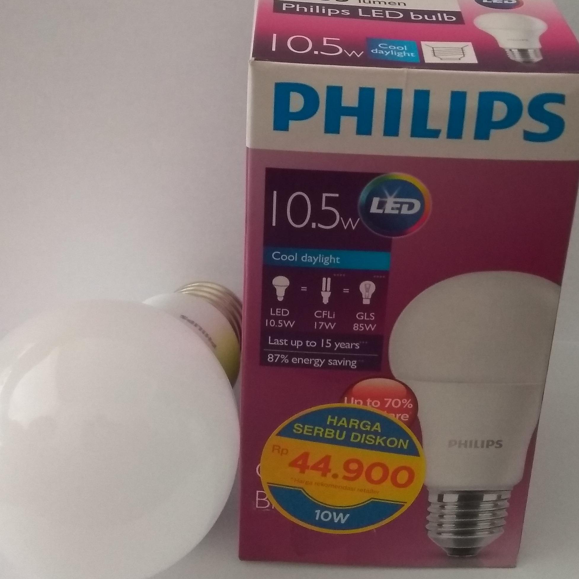 Hannochs Led Premier 3 Watt Lampu Hemat Energi 4 Pcs Page Philips 10 5
