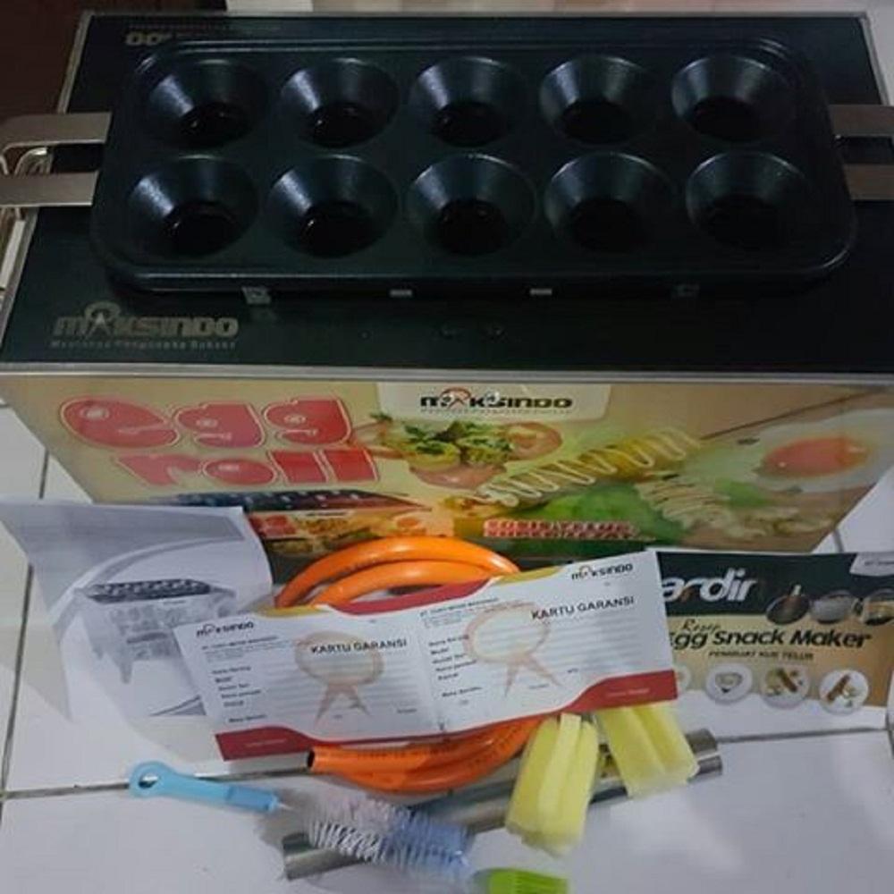 Buy Sell Cheapest Benz Egg Roll Best Quality Product Deals Alat Sosis Telur 4 Lubang Mesin Sostel Lobang Pemanggang Telor Gas