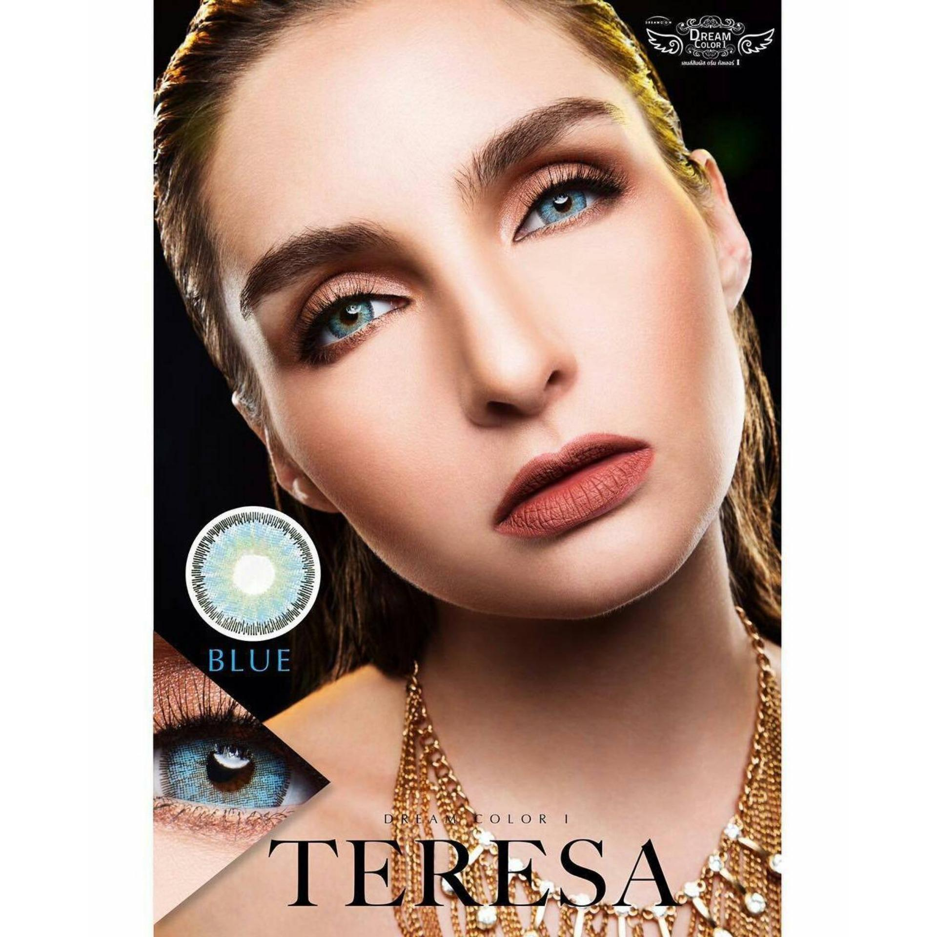 Teresa Softlens Dream Color + Free Lenscase - Blue