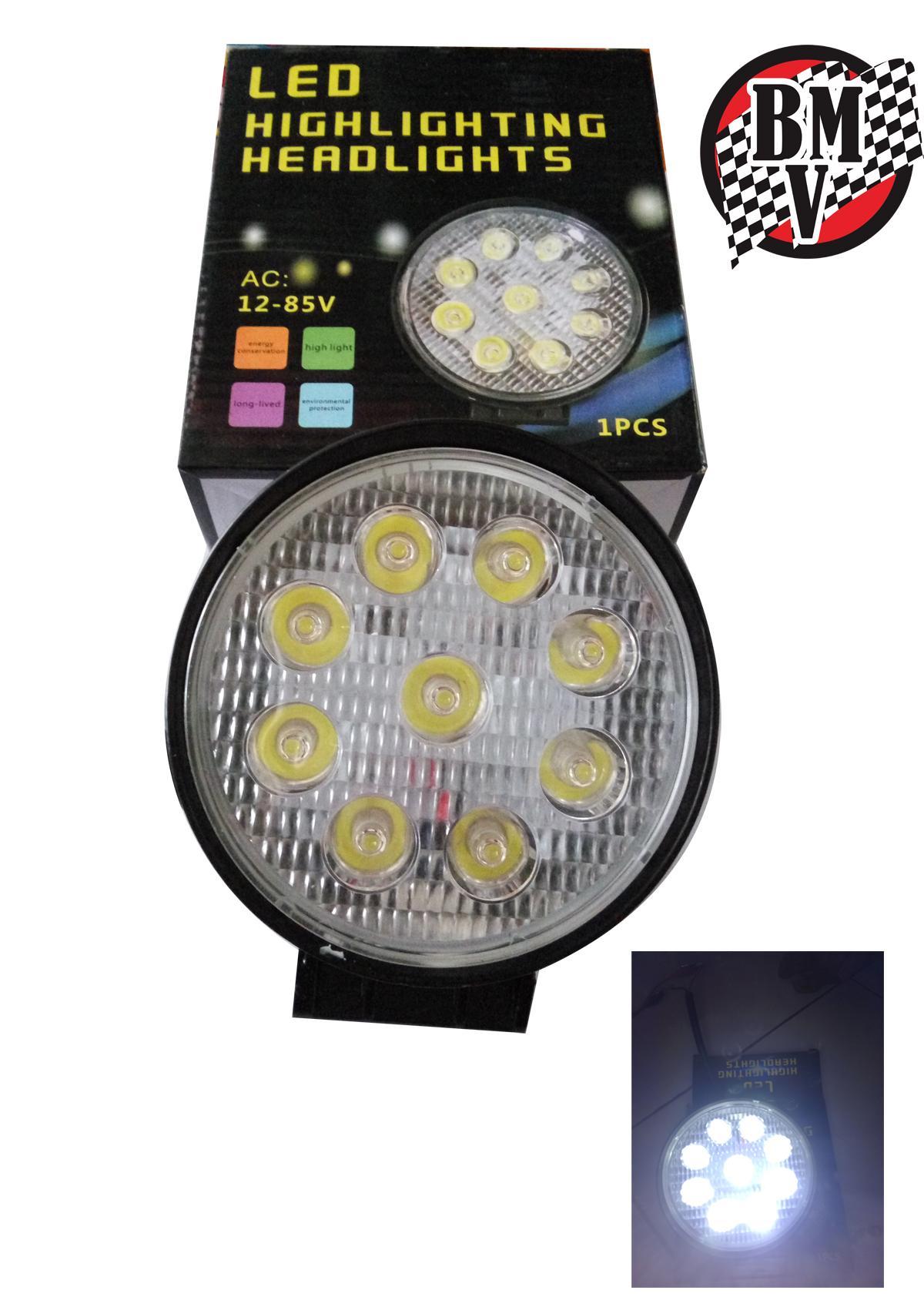 Beli Lampu Bulat Mobil Store Marwanto606 Led 27watt Offroad W27 Motor Putih