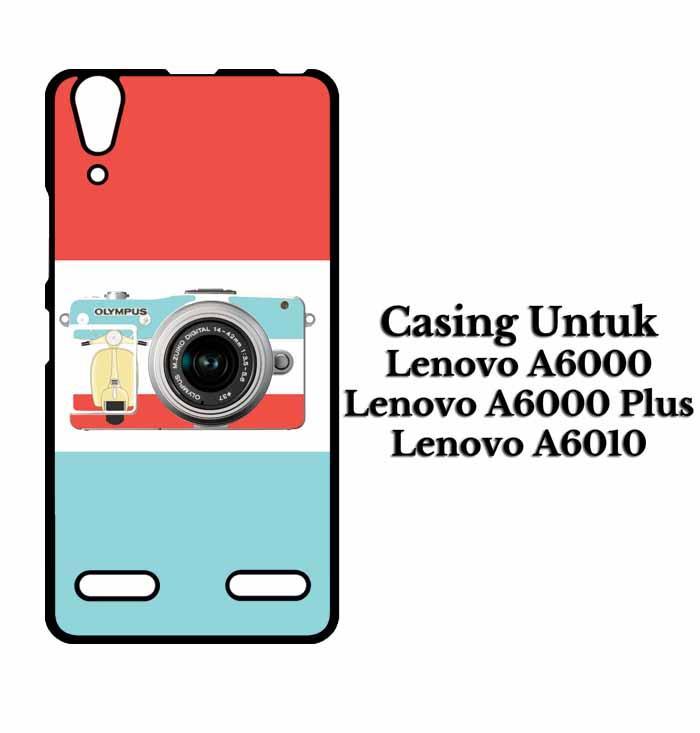 Casing LENOVO A6000 i love my camera Hardcase Custom Case Se7enstores