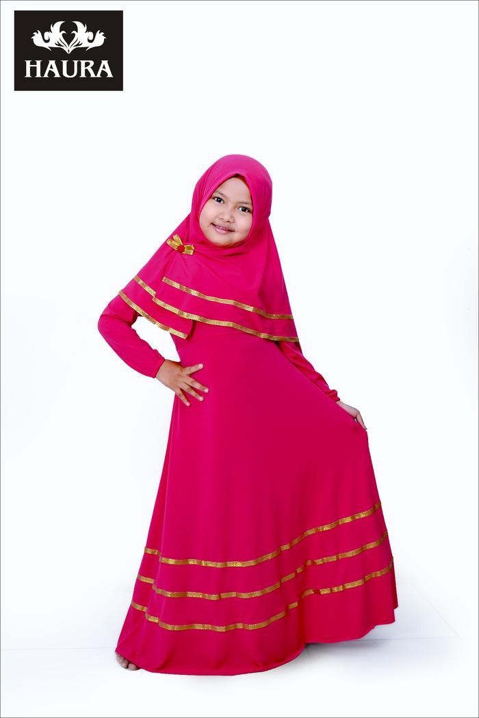 Promo Terbaru! Baju muslim gamis anak perempuan