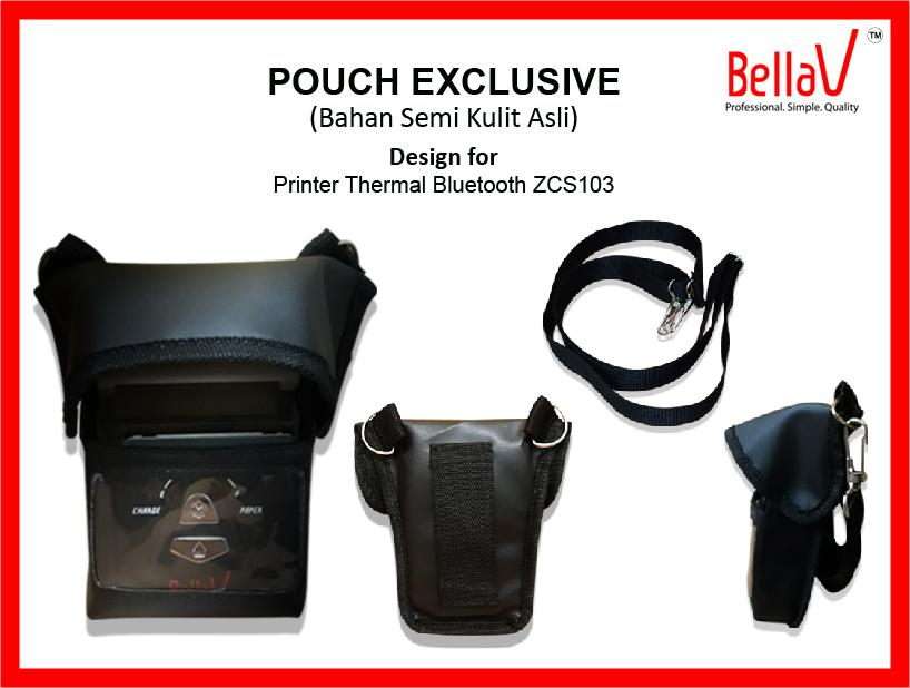POUCH PRINTER THERMAL BLUETOOTH BELLAV