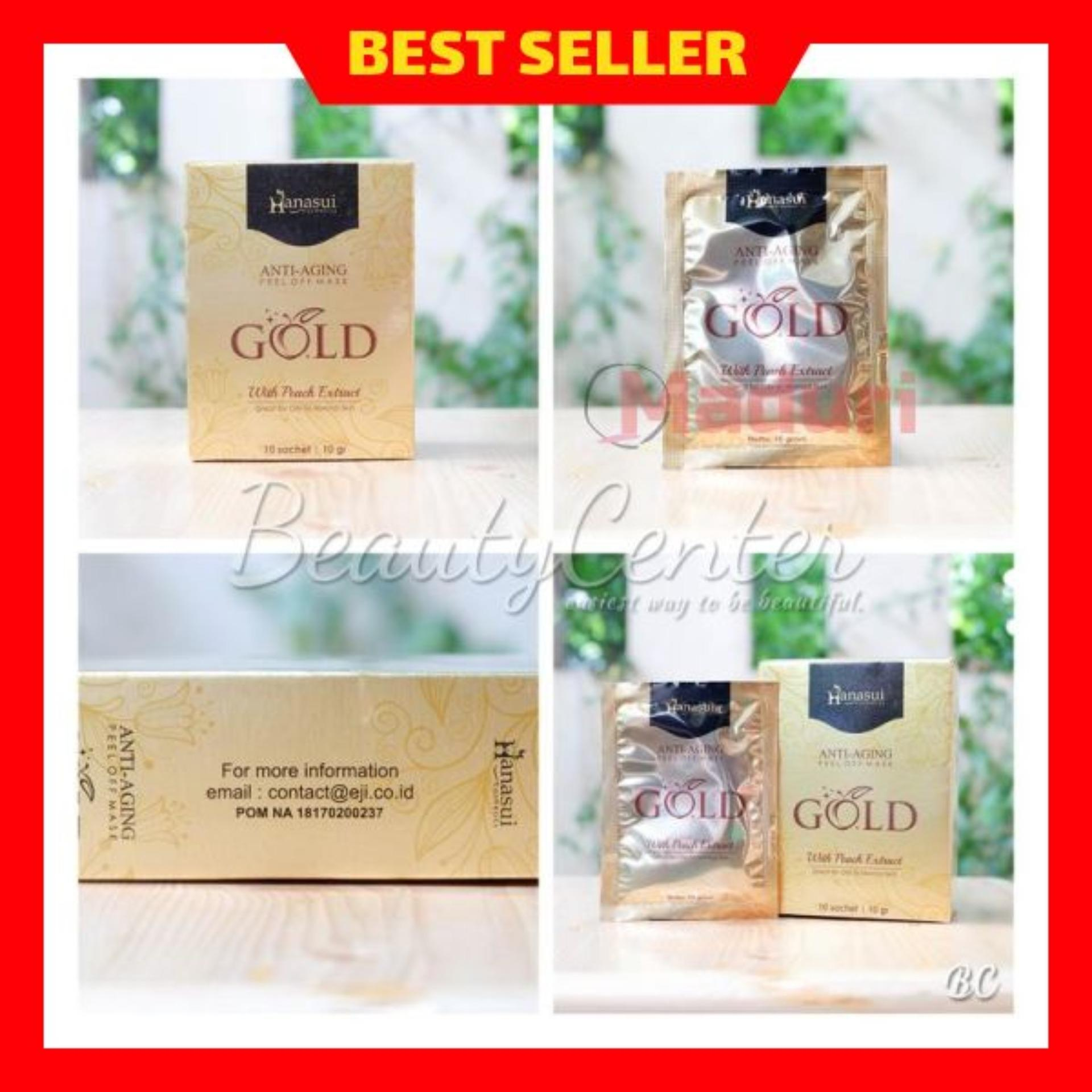 Beli Decembre 24k Gold Foil Facial Mask Masker Wajah Emas Bb Glow Shiseido Naturgo Shisedo Hanasui Peel Off Anti Aging Pemutih Pencerah