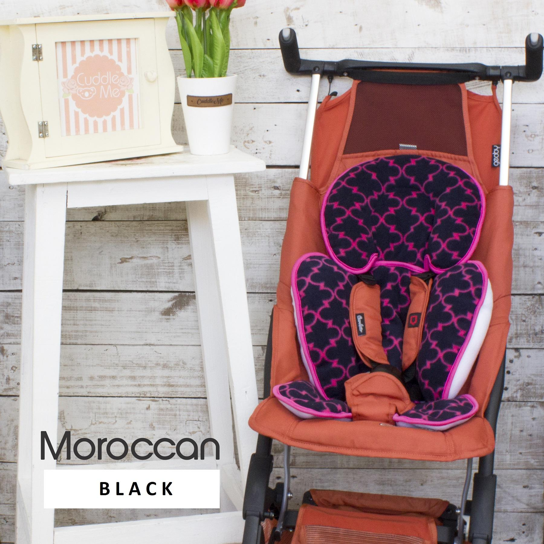 Alas Stroller nyaman / SeatPad cuddle me / Mix color / Seat Pad CuddleMe (Moroccan
