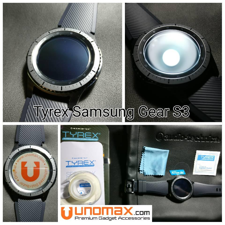 Samsung Galaxy Gear S3 Classic Smartwatch Silver Grs Resmi Sein J4 Tyrex Frontier Tempered Glass Screen Protector