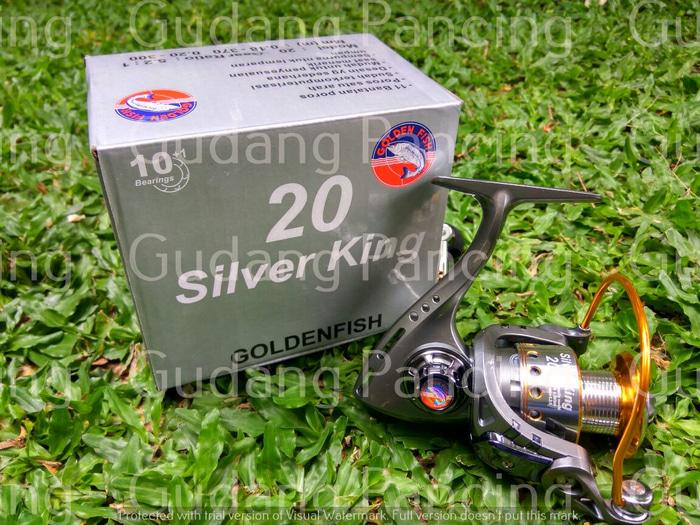 Reel Golden Fish Silver King 20