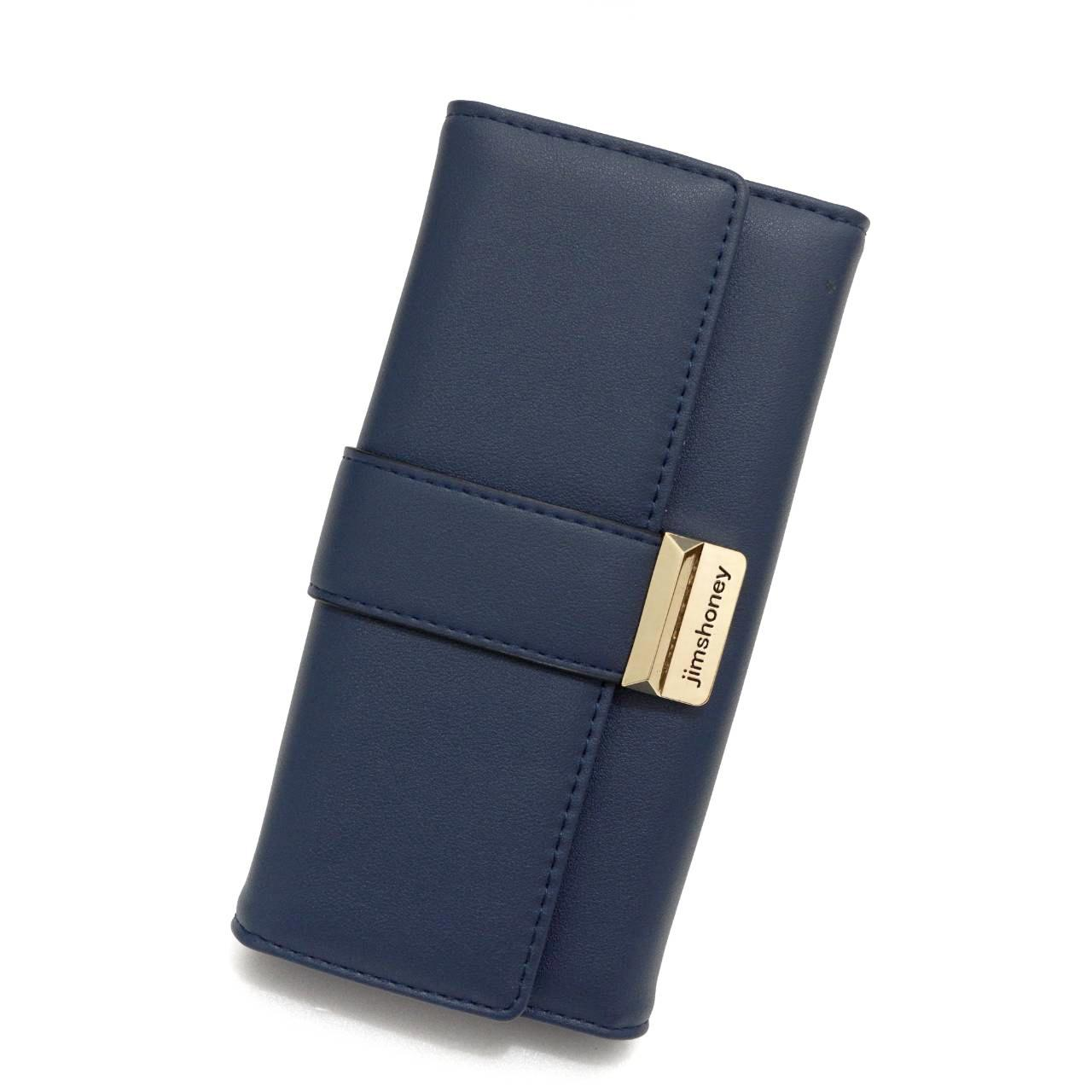 Jims Honey - Dompet Fashion Import - Amour Wallet (Navy)