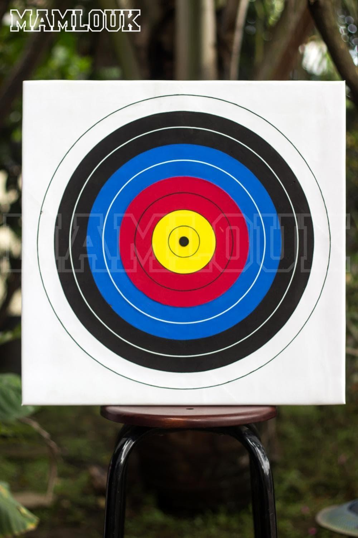Target Panahan - Archery Target - Olympic - 60 x 60 x 3 Murah