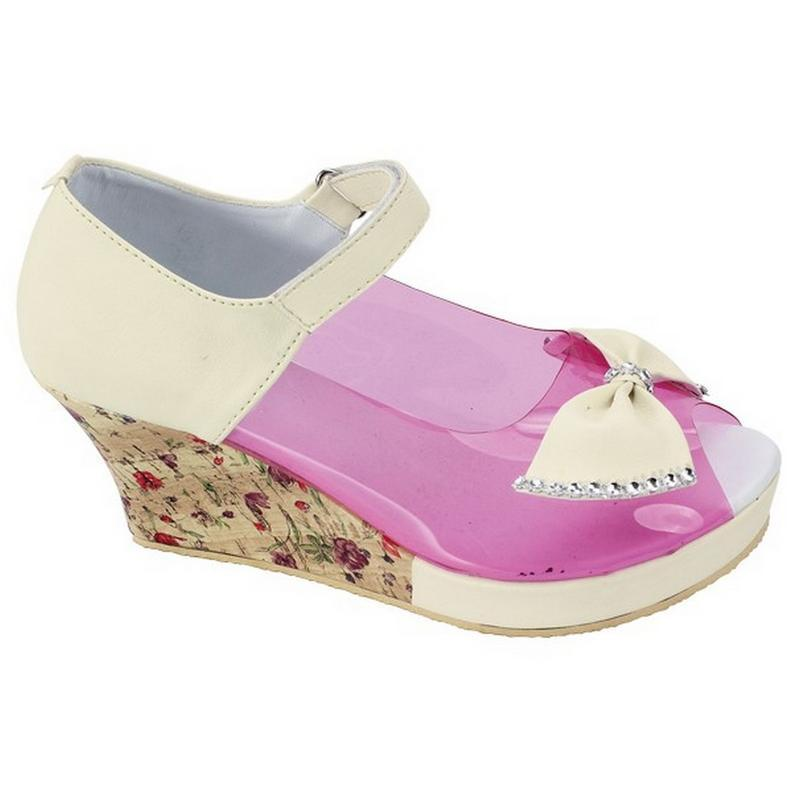 Sepatu Sandal Wedges Anak Perempuan 6-10 Tahun CMP604 Catenzo Junior d83139da33