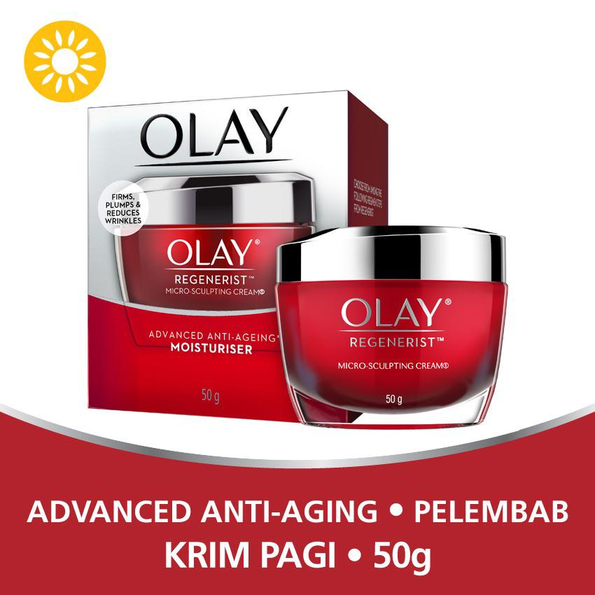 Olay Advanced Anti Aging – Pelembab Regenerist Micro-sculpting Cream – 50g