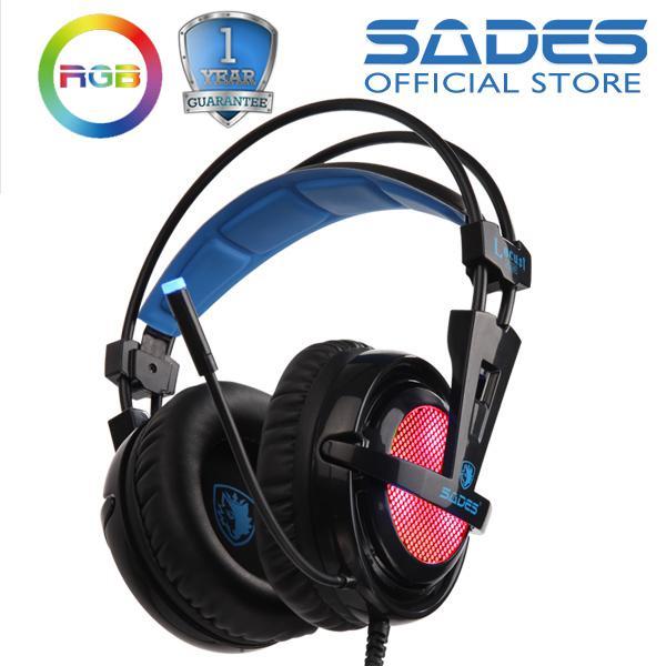 Sades Locust Plus RGB 7.1 Gaming Headset