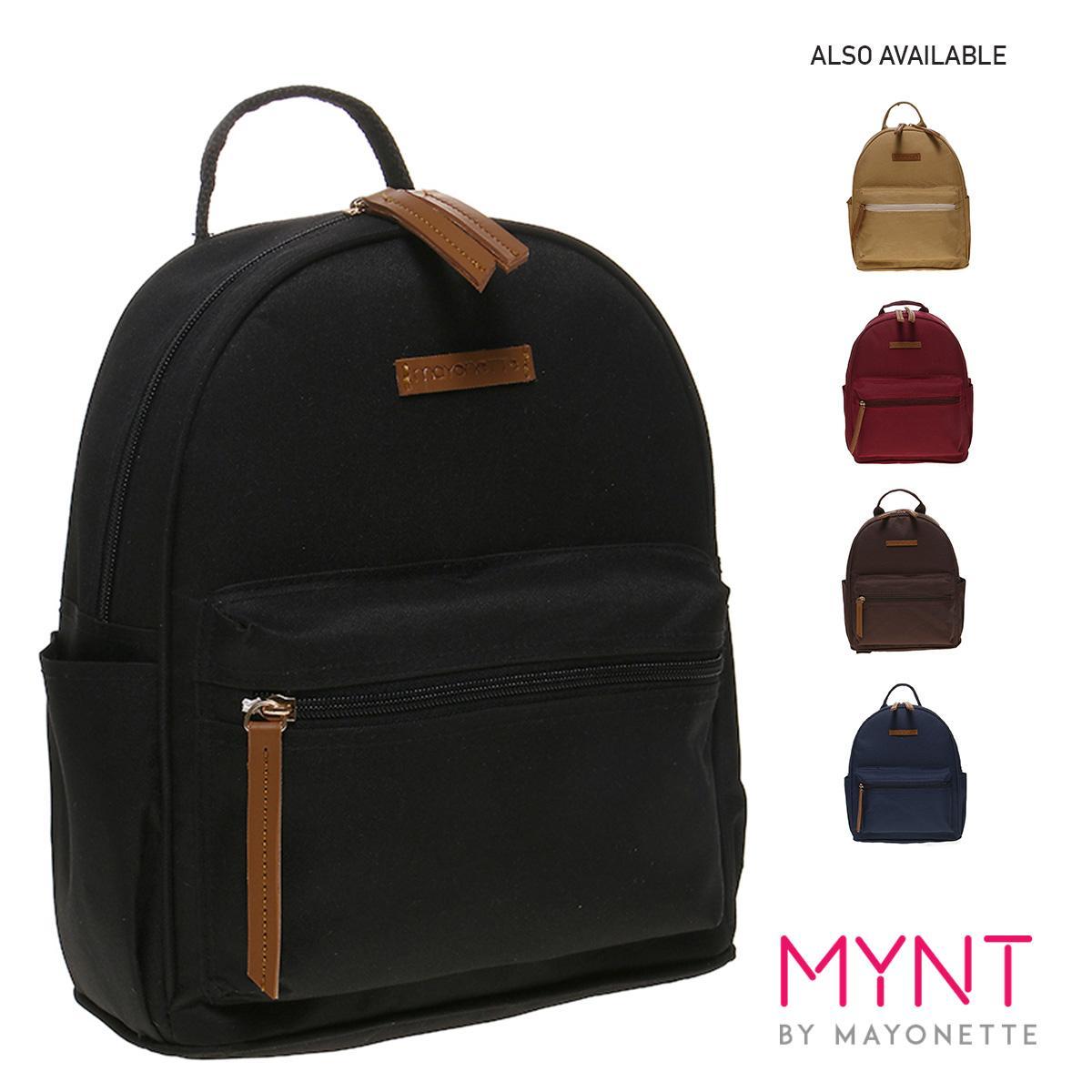 MYNT by Mayonette Tas Ransel Wanita Best Seller Nylon Casual Korean Rubi Backpack - Hitam