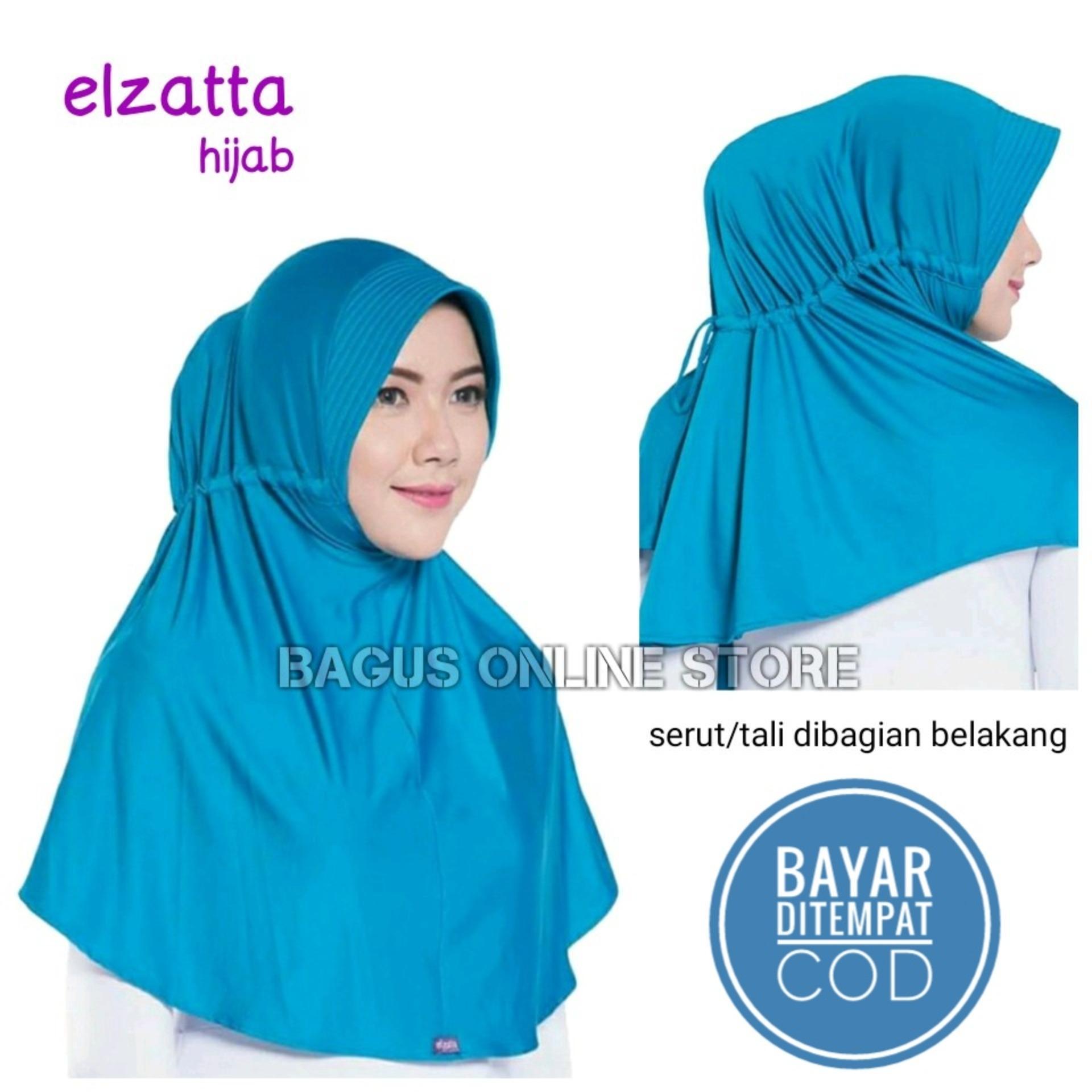 Elzatta Hijab / Jilbab Hijab Instan Bergo Kerudung Ezatta
