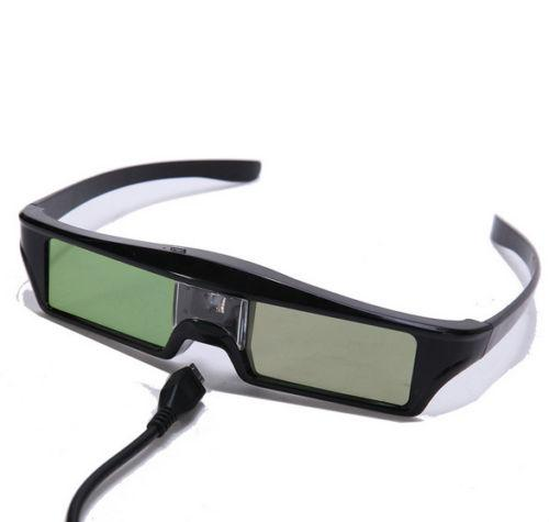 RF Bluetooth Shutter Aktif 3D Kacamata untuk Epson 3020 3020E 5020 Projecotor KX60 dengan Gantungan Kunci (Pack Of 3)