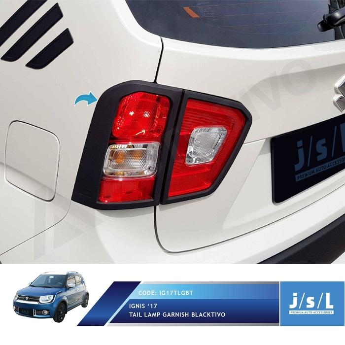 Suzuki Ignis Tail Lamp Garnish Blacktivo Jsl/garnish Lampu Belakang By Ayoma