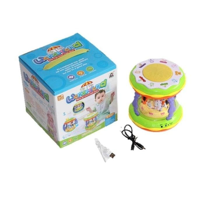 Wonderland Merry Drum usb BESAR MB-CY5087b
