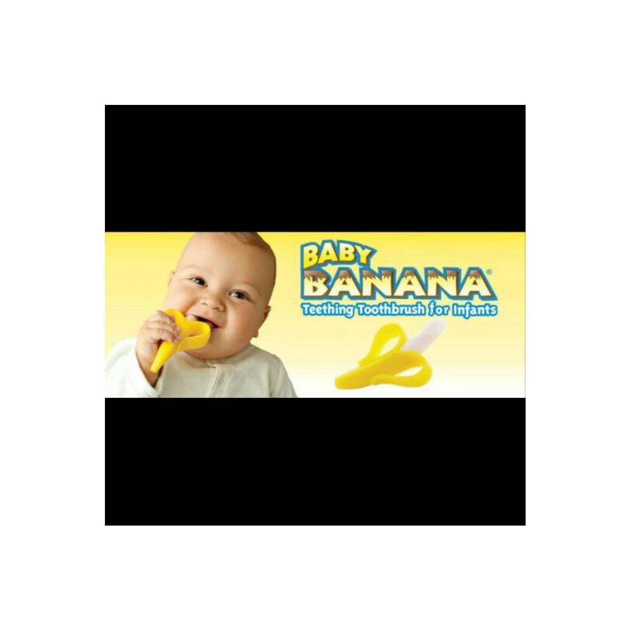 Buy Sell Cheapest Original Baby Banana Best Quality Product Deals Toothbrush Sikat Gigi Bayi Brush Teether Mainan Gigitan Gig