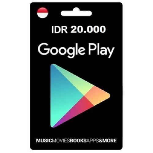 Voucher Google Play Rp. 20.000 By Wildut.