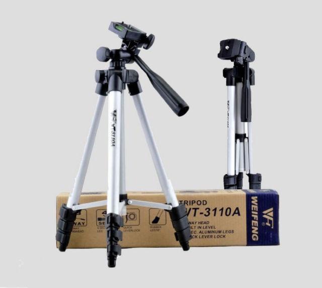 Tripod Weifeng WT-3110A + Holder U Universal for Camera DSLR Handycam