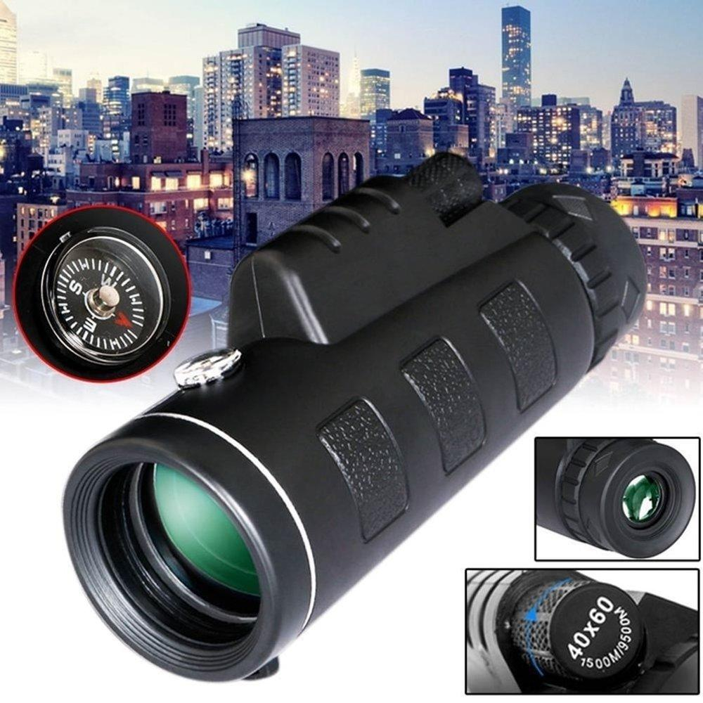 SYF-Shop Teleskop Super Zoom 40 X 60 Night Vision HD Monocular Camping