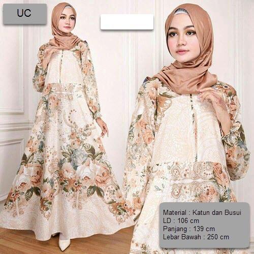 ea9ed7f2a59491a457b3e1227331ef36 Ulasan Daftar Harga Dress Muslim Motif Bunga Terbaru waktu ini
