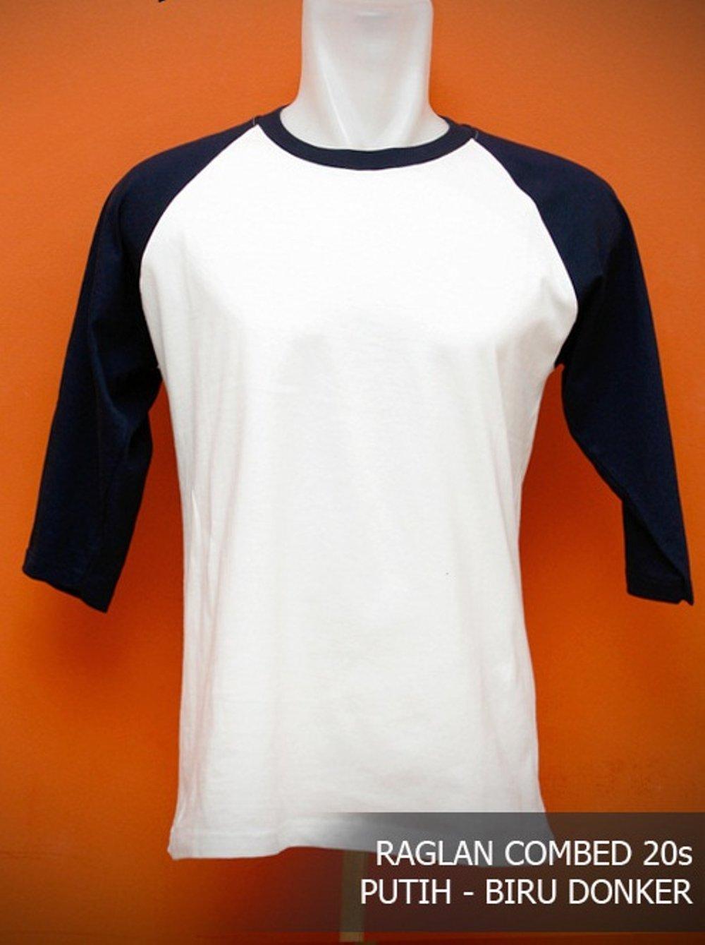 Daftar Harga Kaos Reglan Size M Di Lazada L Polos Cotton Combed Lengan Panjang 20s Jual