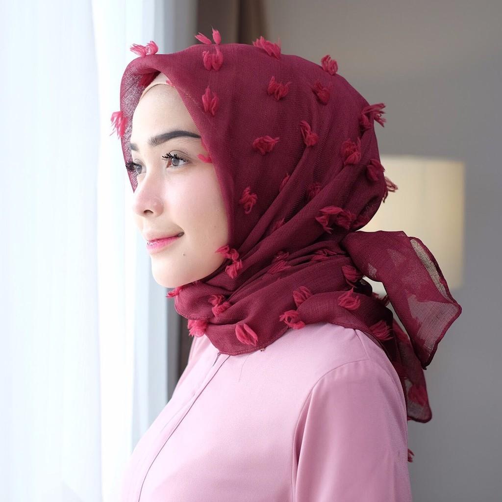 Kerudung Hijab Rubiah Square Terbaru Hijab Segi Empat ORIGINAL - Jilbab kerudung Hijab Segi Empat Motif / Hijab Segi Empat / Hijab Motif / Jilbab Segi Empat / Kerudung Segi Empat