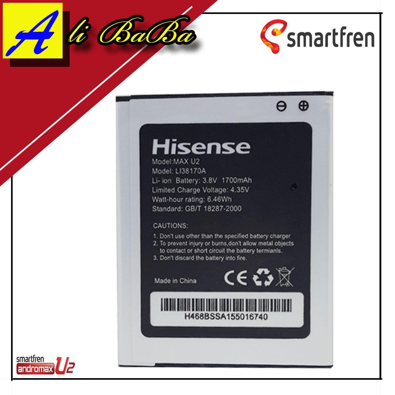 Baterai Handphone Smarfren Andromax U2 4G LTE E2 Plus Andromax Qi Li38170A Battery HP Andromax U2