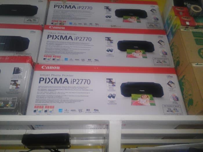 promo minggu ini printer canon ip2770 original waranty 1 tahun