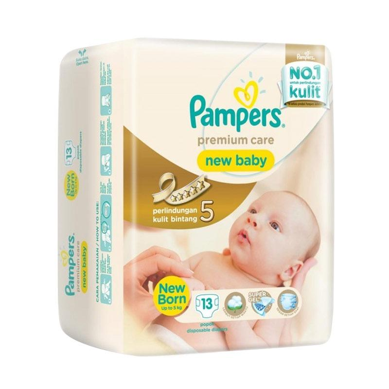 Pampers Popok Premium Care New Baby - NB 13